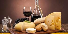 Újbor és sajt