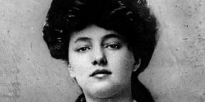 Evelyn Nesbit, a világ első fotómodellje