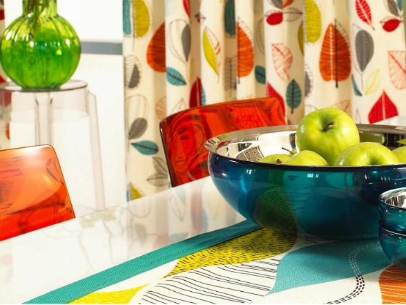 Az élénk, vibráló színek energetizálják a helyiséget és kirobbanó formában kezdhetjük a napot!