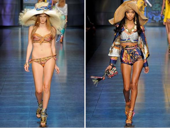 A nagy divatmárkák fürdőruhái ezen a nyáron is egyediek és ellenállhatatlanok.