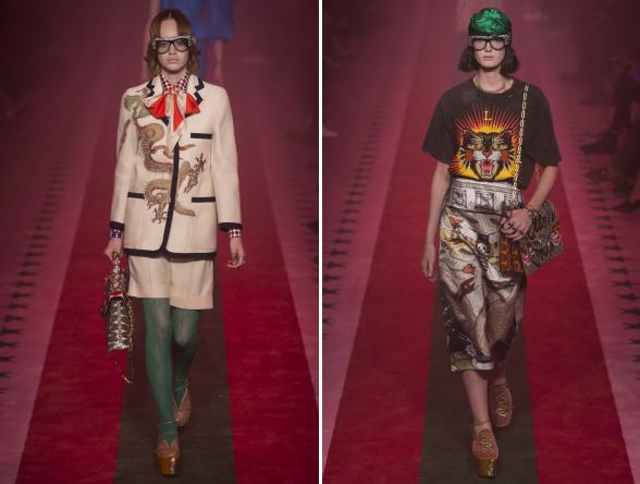 Gucci ismét provokatív kollekcióval rukkolt elő, amelyben fő szerepet kaptak az állatmintával díszített darabok.